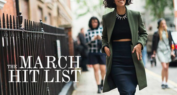 The March Hit List