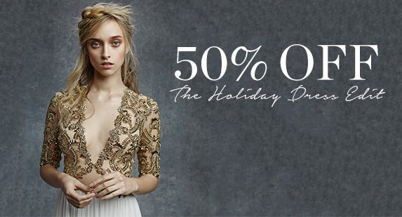 50% Off The Holiday Dress Edit