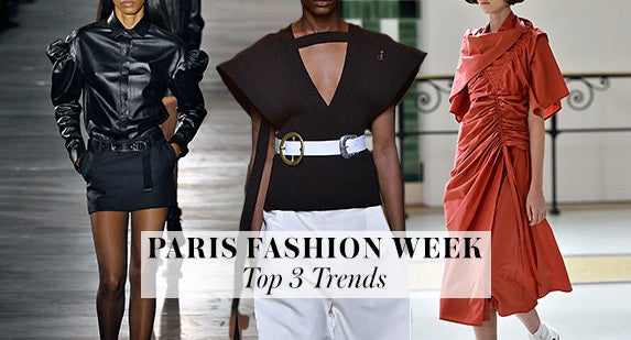 Paris Fashion Week: Top 3 Trends