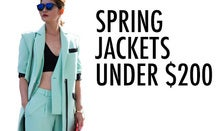 Spring Jackets Under $200