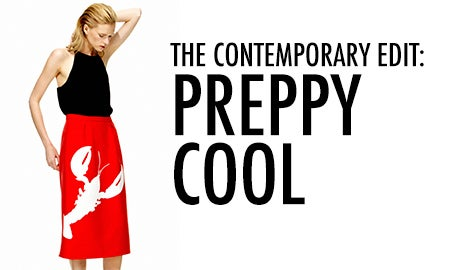 The Contemporary Edit: Preppy Cool