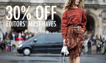 30% Off Editors' Must-Haves