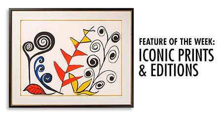 Feature Of The Week: Iconic Prints & Editions