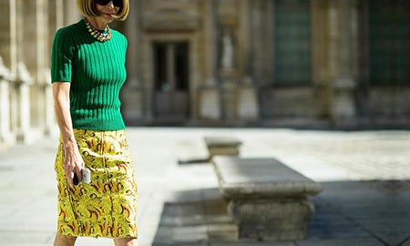 Style Icon: Anna Wintour's Office Elegance