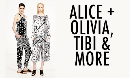 Alice + Olivia, Tibi & More