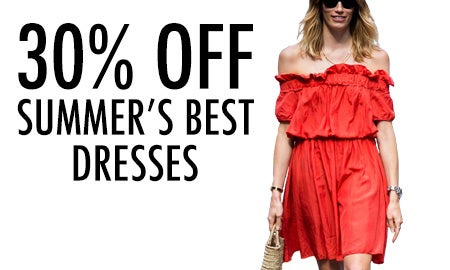 30% Off Summer's Best Dresses