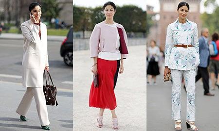 Workwear Muse: Caroline Issa