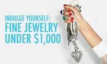 Indulge Yourself: Fine Jewelry Under $1,000