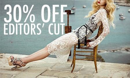 30% Off Editors' Cut