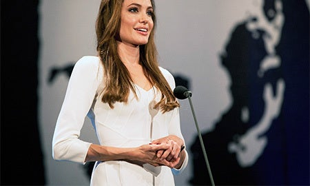 Workwear Muse: Angelina Jolie