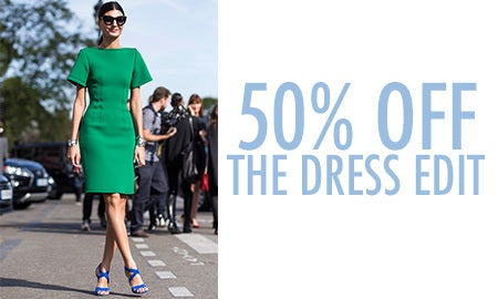 50% Off The Dress Edit