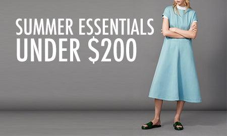 Summer Essentials Under $200