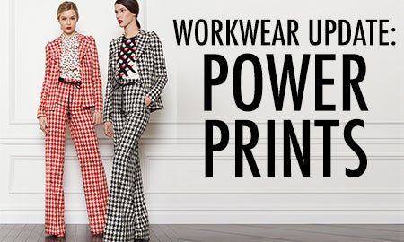 Workwear Update: Power Prints