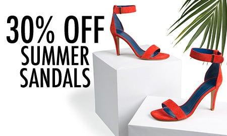 30% Off Summer Sandals