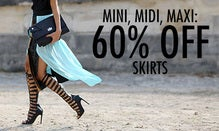 Mini, Midi, Maxi: 60% Off Skirts