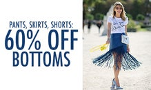 Pants, Skirts, Shorts: 60% Off Bottoms