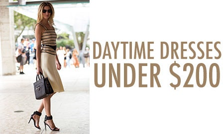 Daytime Dresses Under $200
