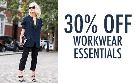 30% Off Workwear Essentials