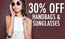 30% Off Handbags & Sunglasses