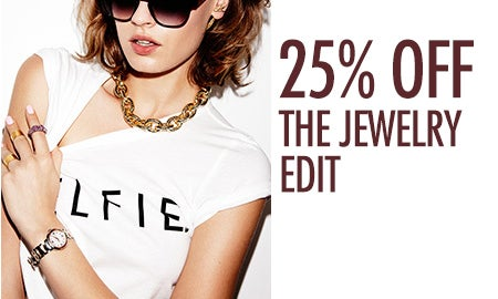 25% Off The Jewelry Edit