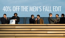 40% Off The Men's Fall Edit