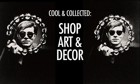 Cool & Collected: Shop Art & Decor
