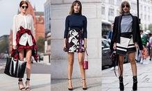 Street Style Tutorial: Fall Miniskirts