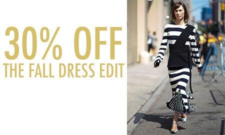 30% Off The Fall Dress Edit