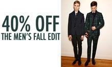40% Off The Men's Fall Edit