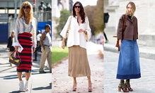 How To Wear: Fall's Midi Skirt