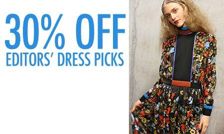30% Off Editors' Dress Picks