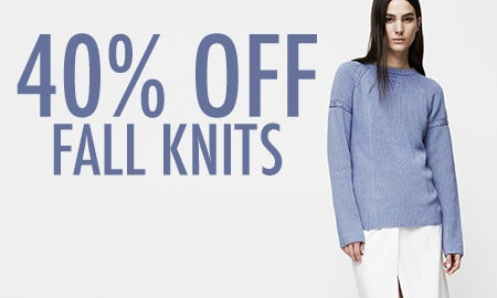 40% Off Fall Knits