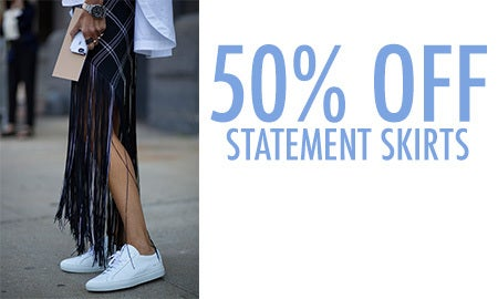 50% Off Statement Skirts
