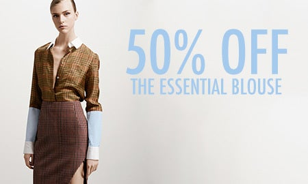 50% Off The Essential Blouse