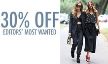 30% Off Editors' Most Wanted