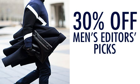 30% Off Men's Editors' Picks