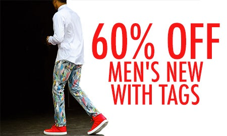 60% Off Men's New With Tags