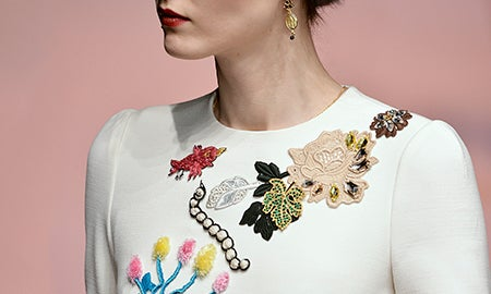 Runway Report: Embroidery Excess