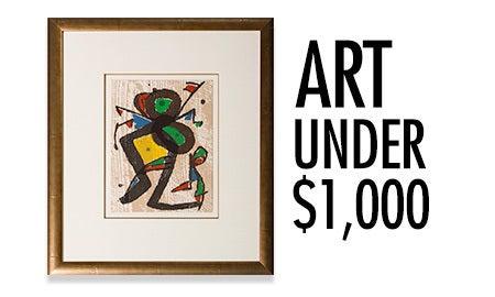 Art Under $1,000