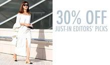 20% Off Just-In Editors' Picks