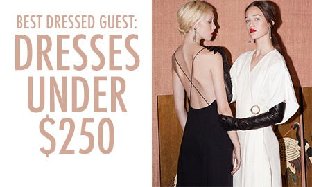 Best Dressed Guest: Dresses Under $250