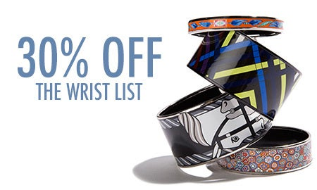 30% Off The Wrist List