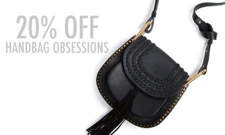 20% Off Handbag Obsessions