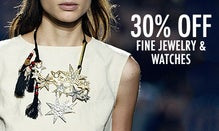 30% Off Fine Jewelry & Watches Must Haves