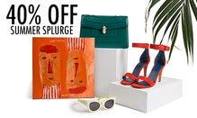 40% Off Summer Splurge