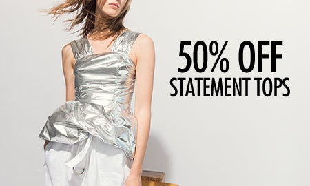 50% Off Statement Tops