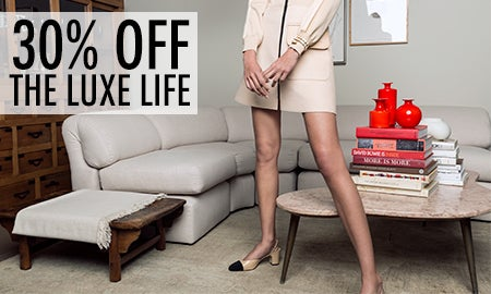 30% Off The Luxe Life
