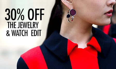 30% Off The Jewelry & Watch Edit