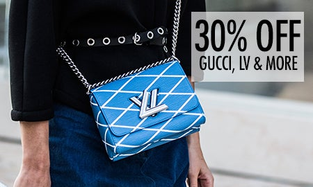 30% Off Gucci, LV & More