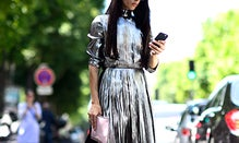 How To Wear On-Trend Metallics